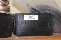 Speakers - Realistic speakers & speaker wire