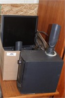 Dell computer speakers & Monitor
