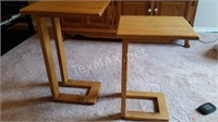 Wood Stacking Tables