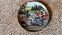 Limited Edition Harley Davidson Plate