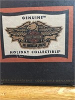 (2) New Harley Davidson Collectible Ornaments