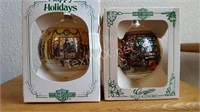 2 New Harley Davidson  Ornaments