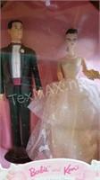 New Hallmark Ken & Barbie Wedding Ornament