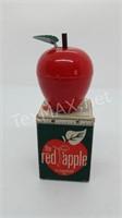 Vintage New Red Apple Tape Measure