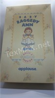 New 1993 Applause Baby Raggedy Ann