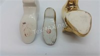 3 Vintage China Shoes