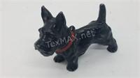 Vintage Marked Cast Iron Scottie Dog