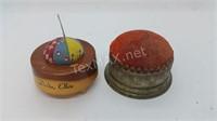 2 Vintage Pincushions