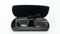 Antique Shuron Gold Filled Glasses