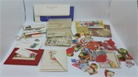 Collection of Mid Century Christmas Seals & Tags