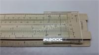 Vintage Faber Castell Slide Rule with Case