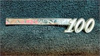 Vintage Valiant 100 Car Emblem