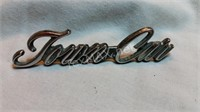Vintage Town car Emblem