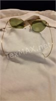 Vintage Texas State Optical Glasses & Case