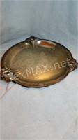 Royal Danish Sterling Sliver  Platter