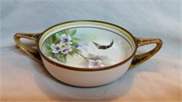 Vintage Nipon Footed Bowl with Handles