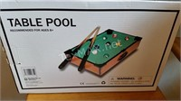 New Table Pool Game