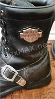 Men's Harley Davidson Motorcycle Boots