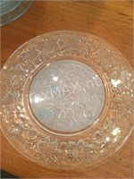 Set of 4 Decorative Glass Place Setting