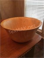 Clay At Wooden Bowl