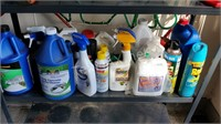 Shelf of Chemicals