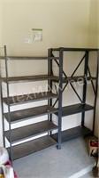 3 Garage Metal Shelves