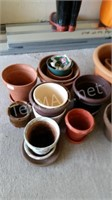 Collection of Outdoor Pots