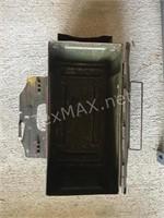 Vintage Metal Ammo Box & Target