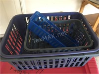 Collection of Storage Tubs & Baskets