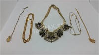 Gold Toned Necklaces