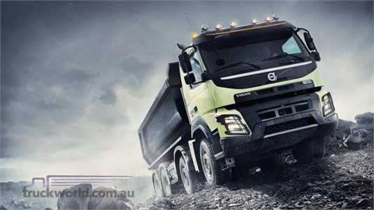 Volvo FMX11 CAX 8x4 Rigid Air Ride Mining Support UFUP