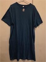 HANES WOMEN TSHIRT-DRESS ONE SIZE