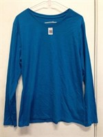 HANES WOMENS LONG SLEEVE SIZE LARGE