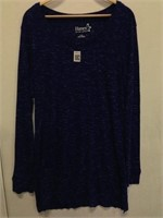 HANES WOMES LONG  SLEEVE SHIRT SIZE LARGE