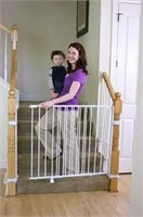 REGALO TALL TOP OF STAIRS EXPANDABLE BABY GATE
