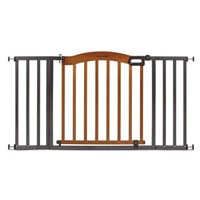 SUMMER INFANT WOOD AND METAL GATE
