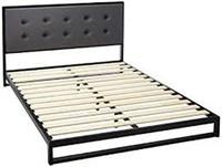 ZINUS LOW BED FRAME W/ HEADBOARD QUEEN