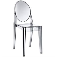 MODWAY PHILIPPE STARCK STYLE VICTORIA GHOST CHAIR