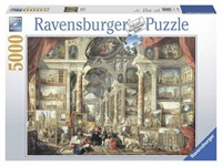 RAVENSBURGER VIEWS OF MODERN ROME 5000 PCS PUZZLE