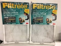 FILTRETE 16X25X1 FILTER 6 PIECE (AS IS)