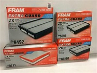 ASSORTED FRAM AIR FILTER (AS IS)