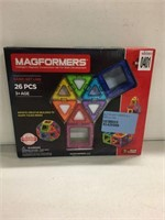 MAGFORMERS 26PIECE (AS IS)