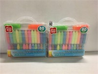 PLAYDOH CHALK SET 2PIECE (AS IS)