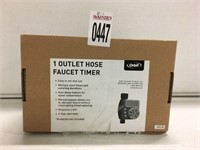 1 OUTLET HOSE FAUCET TIMER (AS IS)
