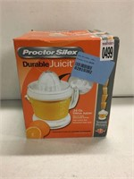 PROCTOR DURABLE JUICER (AS IS)