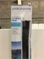 "BIONAINE TOWER FAN 40"" (AS IS)"