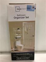 MAINSTAY BATHROOM ORGANIZER SET (AS IS)