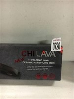 CHI LAVA 1IN VOLCANIC LAVA HAIRSTYLING IRON