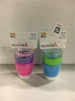 MUNCHKIN SPLASH 2 CUPS X 2
