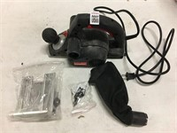 """DRILL MASTER 120V 3-1/4"""" ELECTRIC PLANER  (AS IS)"""